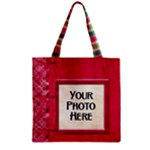 Merry and Bright Zipper Tote 1 - Zipper Grocery Tote Bag