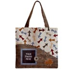 Junior Zipper Tote 1 - Zipper Grocery Tote Bag