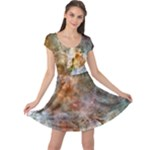 galaxy pearl skater - Cap Sleeve Dress