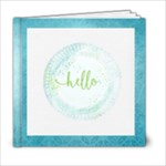 Blue Skies - 6x6 Photo Book (20 pages)
