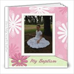 Sierra s Baptism - 8x8 Photo Book (20 pages)