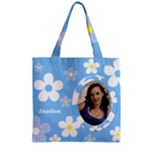 Daisy Zipper grocery Tote Bag