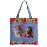 My Little Princess Zipper grocery Tote Bag