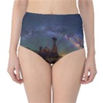 milkyway over arizona - Classic High-Waist Bikini Bottoms