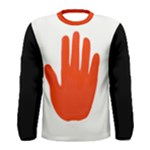 Red Hand Shirt - Men s Long Sleeve Tee