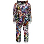 silliness onesie - Hooded Jumpsuit (Ladies)