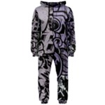 graffiti  - Hooded Jumpsuit (Ladies)