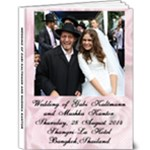 Gabi Mushka Wedding Album - 9x12 Deluxe Photo Book (20 pages)