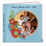 Vivero Family 2012-2014 - 8x8 Photo Book (20 pages)