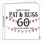 60th anniversary - 8x8 Photo Book (20 pages)