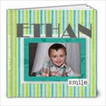 Ethan Scrapbook 2014 2015 - 8x8 Photo Book (20 pages)