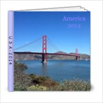 USA2014 - 6x6 Photo Book (20 pages)
