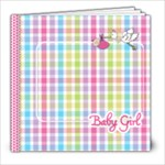 Introducing Baby Girl Book - 8x8 Photo Book (20 pages)