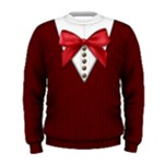 School uniform sweater: Men, red - Men s Sweatshirt