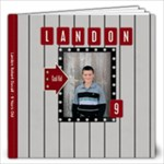 Landon 9 - 12x12 Photo Book (20 pages)