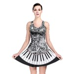 piano - Reversible Skater Dress