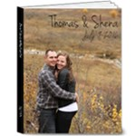 Engagement Guest Book - 8x10 Deluxe Photo Book (20 pages)