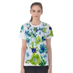 flower - Women s Cotton Tee