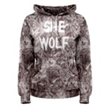 She Wolf girl pull over hoodie - Women s Pullover Hoodie