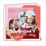 valentine - 6x6 Photo Book (20 pages)