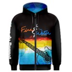 Fire & Water #2 - Men s Zipper Hoodie