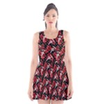 Fullmetal Alchemist Hawaiian Print Skater Dress - Scoop Neck Skater Dress