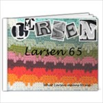 Larsen Memories - 9x7 Photo Book (20 pages)