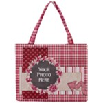 Flower Wreath Tote - Mini Tote Bag