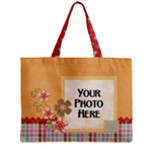 Soft Flowers Tote - Mini Tote Bag