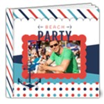 summer theme - 8x8 Deluxe Photo Book (20 pages)