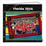 Florida 2016 - 8x8 Photo Book (20 pages)
