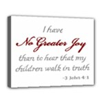 walk in truth #2 - Canvas 14  x 11  (Stretched)