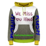 hindi - Women s Pullover Hoodie
