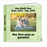 Year 6 book - 6x6 Photo Book (20 pages)