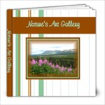 Nature s Art Gallery - 8x8 Photo Book (30 pages)