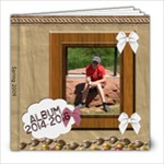 album Andy 2016 - 8x8 Photo Book (20 pages)