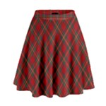 Royal Stewart Skirt - High Waist Skirt