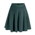 Smith Family Tartan Skirt - High Waist Skirt