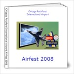 Airfest 2008 Air show - 8x8 Photo Book (30 pages)
