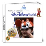 Disney World 2015 - 8x8 Photo Book (20 pages)