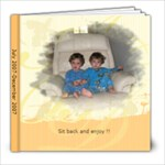 jacob and jaden 7/07-12/07 - 8x8 Photo Book (30 pages)