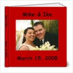 Mike & Ike Wedding - 8x8 Photo Book (30 pages)