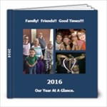 2016 - 8x8 Photo Book (20 pages)