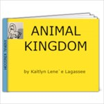 Animal Kingdom - 7x5 Photo Book (20 pages)