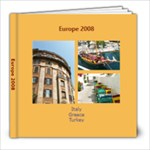 Europe 2008 - 8x8 Photo Book (30 pages)
