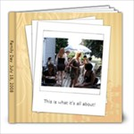 Family Day - 8x8 Photo Book (30 pages)