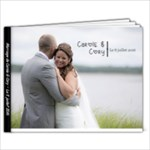 Carole & Cory Wedding FR - 7x5 Photo Book (20 pages)