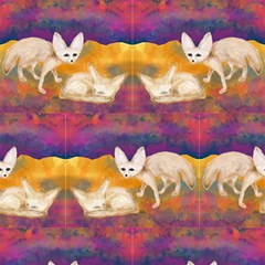 Fennec Desert At Night Sand Fox By Paysmage Fabric