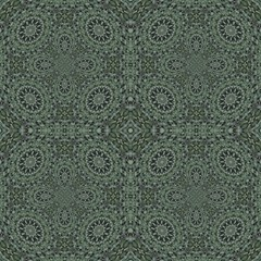 Mosaic In Green By Designsdeborah