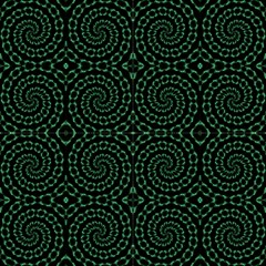 Green Sparkles By Designsdeborah Fabric
